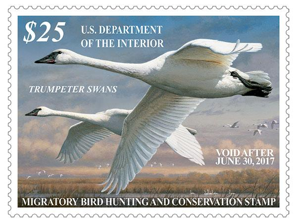 New Waterfowl Stamps Now Available