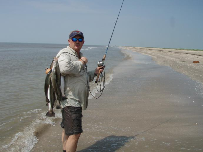 Pipkin ranch outfitters inshore fishing photo 25 for Gulf coast fishing report