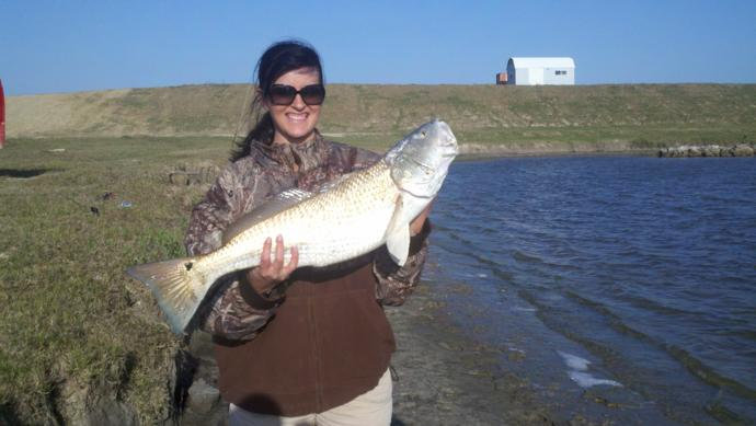Pipkin ranch outfitters inshore fishing photo 16 for Gulf coast fishing report